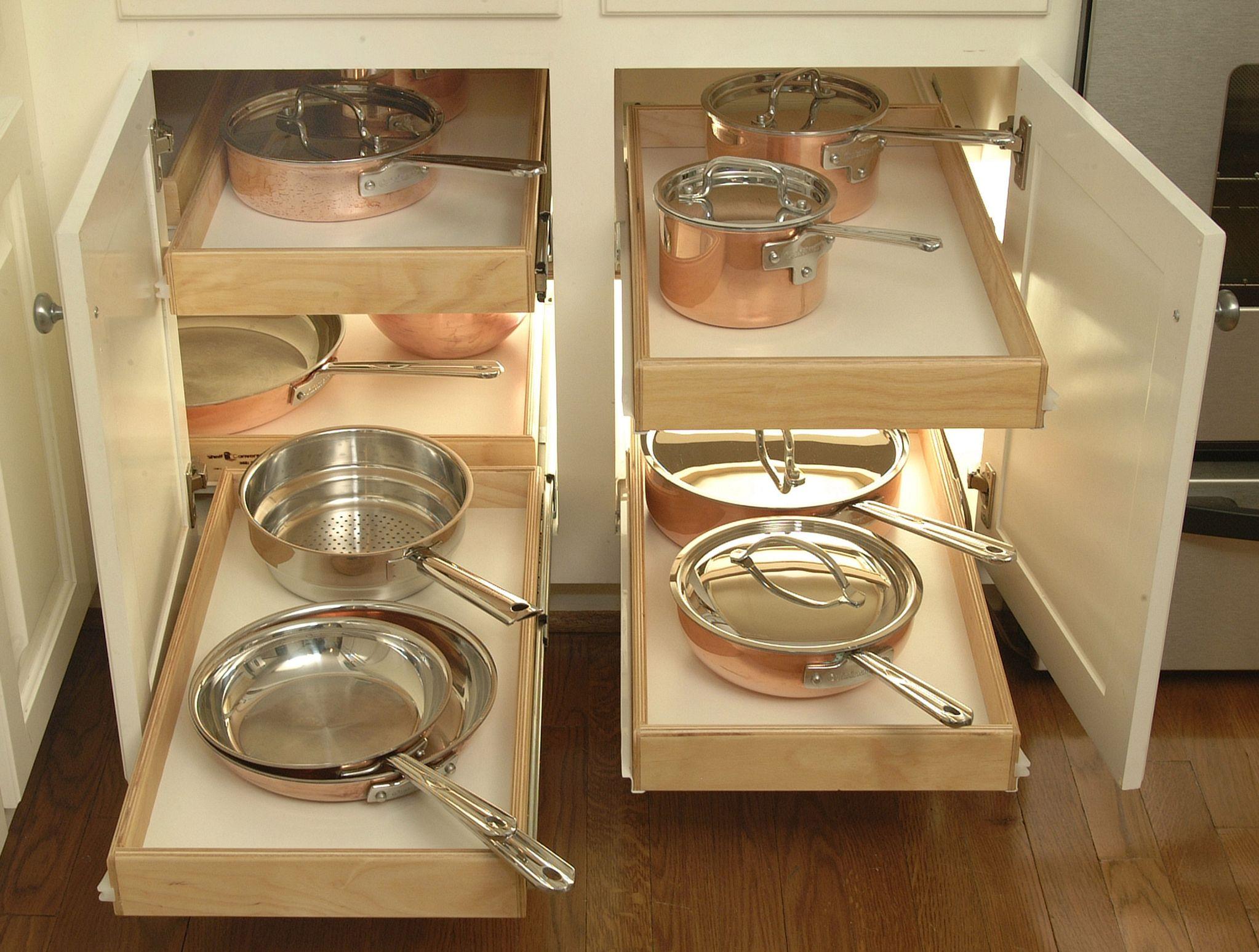 ShelfGenie Blind Corner Cabinet Solution  Clever Storage
