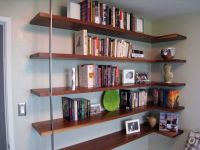 Floating Mid-Century Modern Wall Shelves | Mid-Century ...
