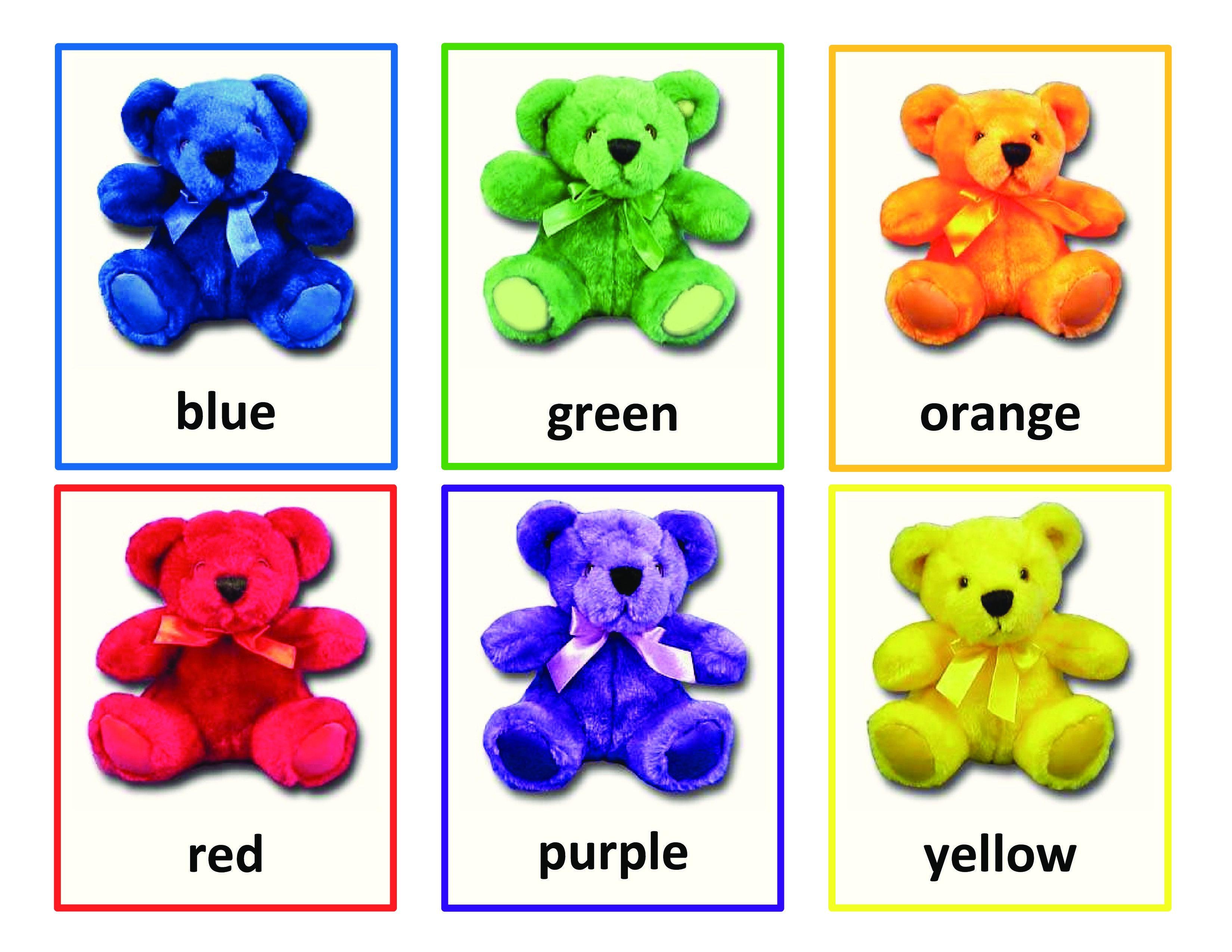 Color Bears Sorting Activity Is A Fun Way For Preschoolers