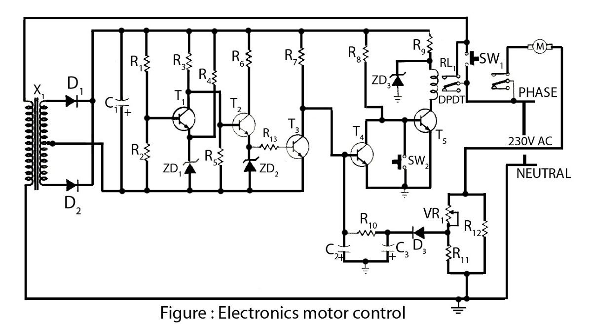 Electronic Circuit Diagrams Projects