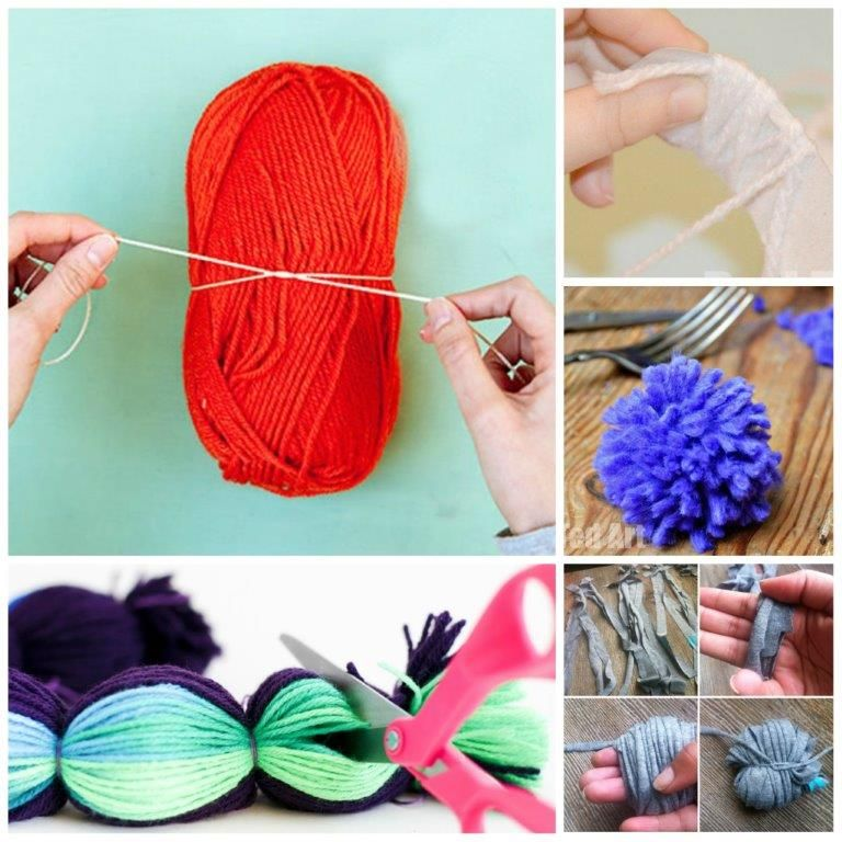 How To Make A Pom Pom 7 Techniques Scarves Craft And