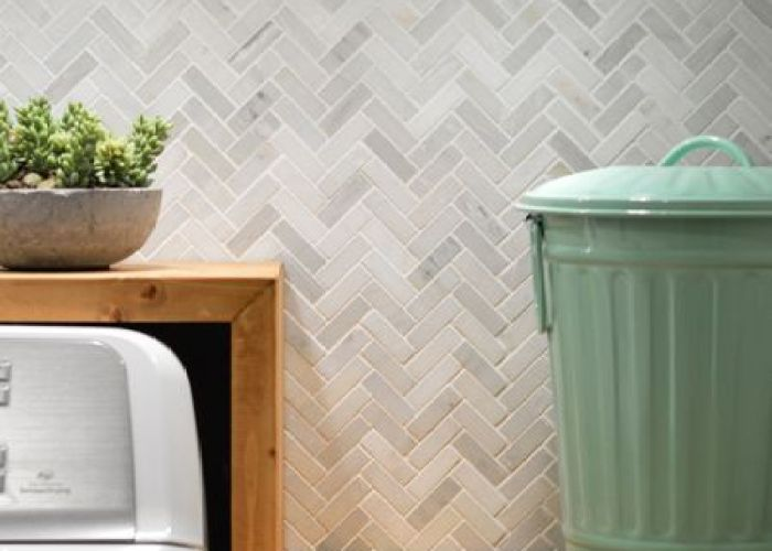 Grey herringbone tile found here http www tileshop com also woot our big laundry room renovation is done