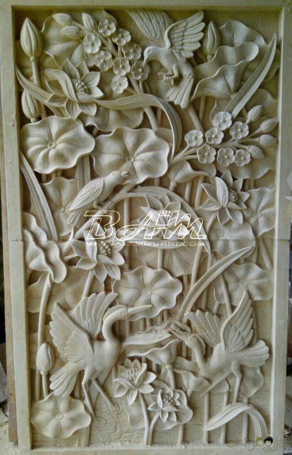 Balinese Stone Carving - Google 3d Mural Art