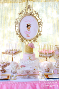 Princess Baby Shower Party Ideas | Princess, Babies and ...