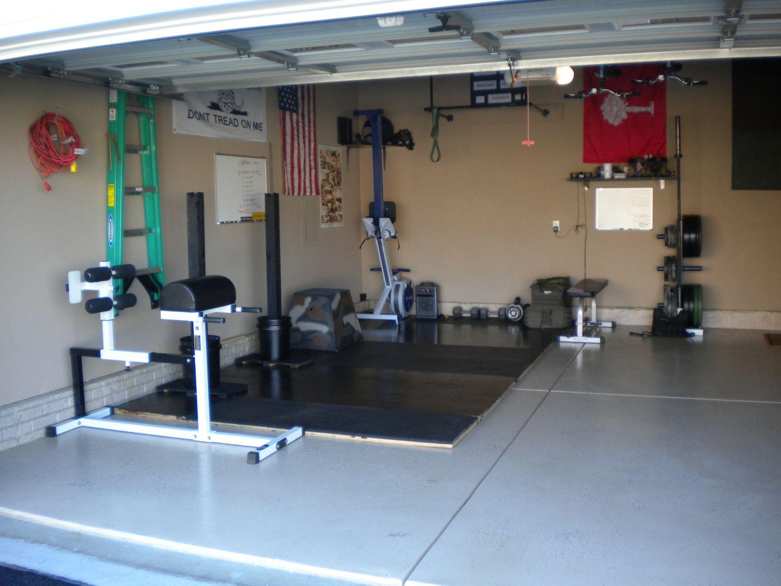 Best garage gyms year of clean water