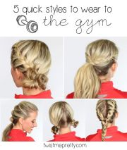 5 quick hairstyles perfect