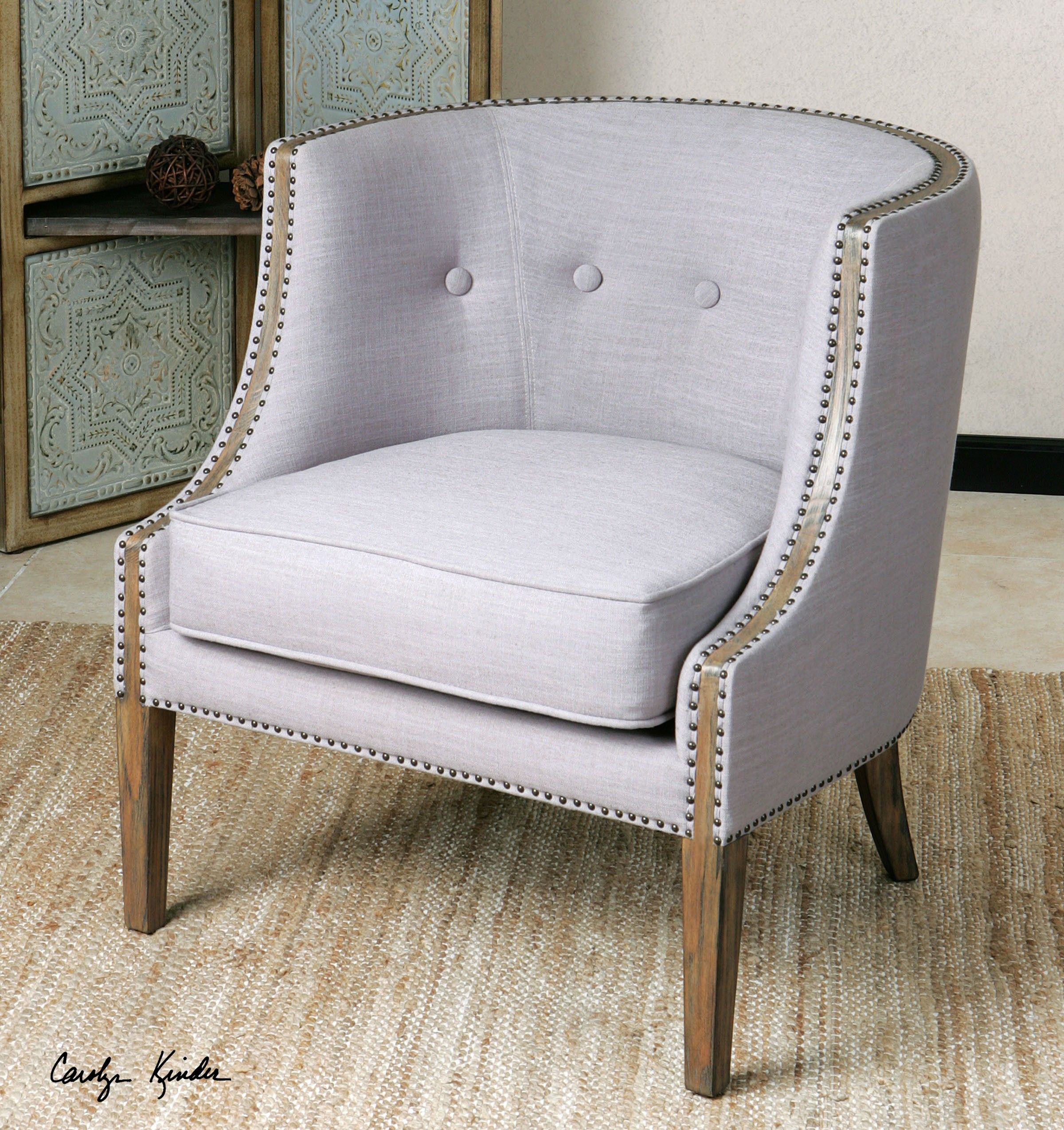 barrel accent chair best office for 12 hours back on backorder until august 2017