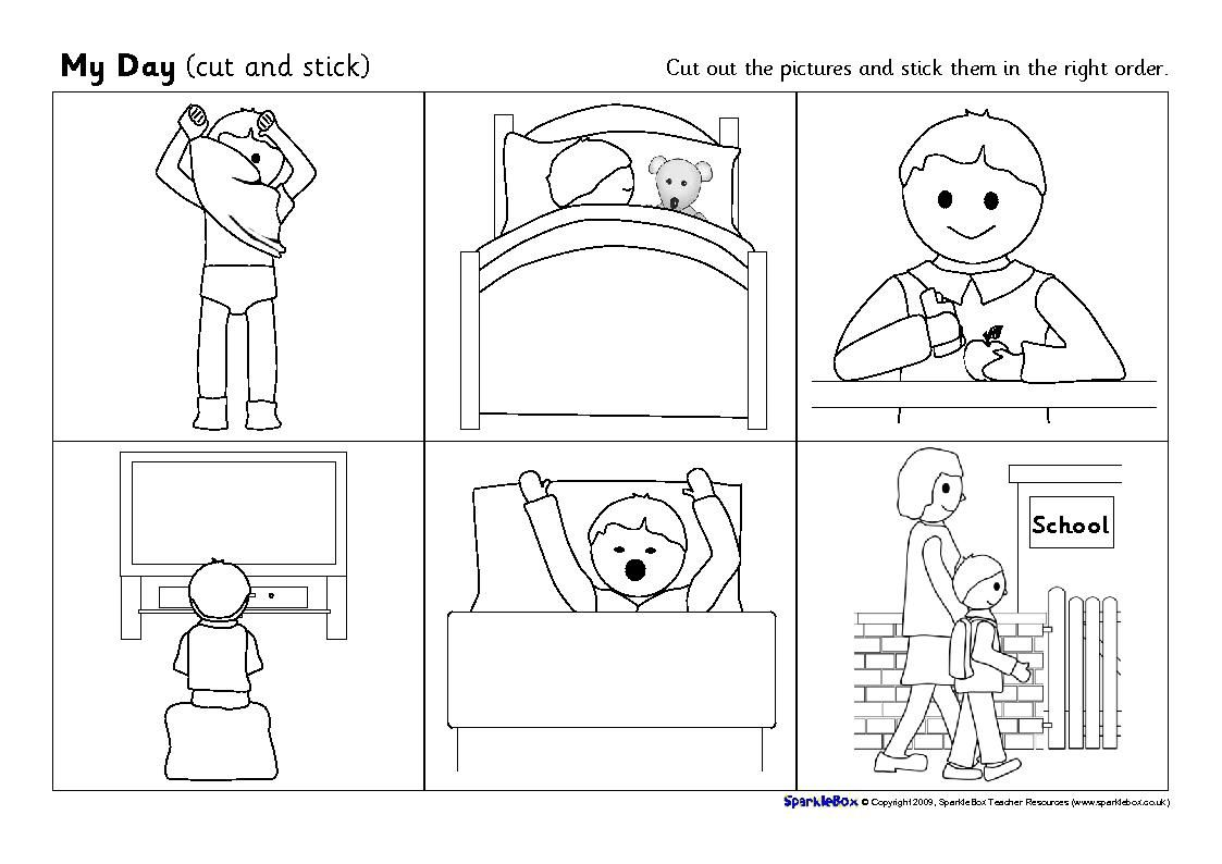 Life Skills Sequencing Worksheet