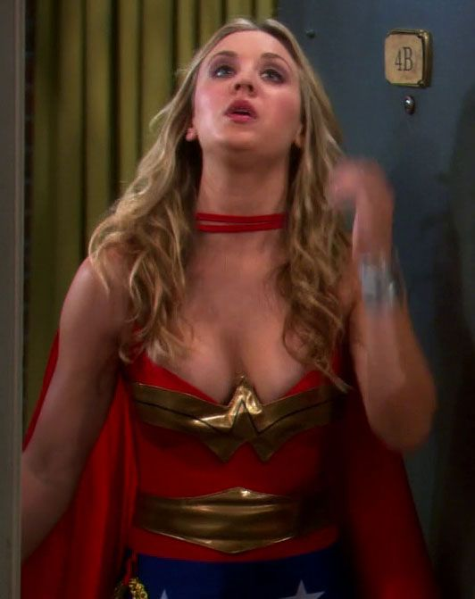 Kaley Cuoco Eight Simple Rules