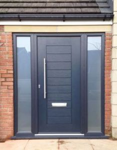 composite front entrance door in black also the best images about on pinterest doors rh uk
