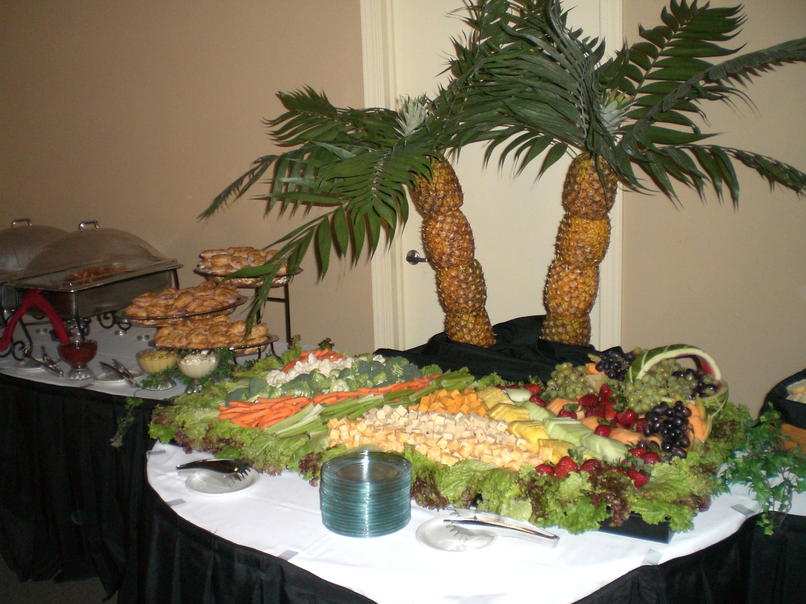 Ideas For Buffet Tables Setting A Buffet Table Party Ideas