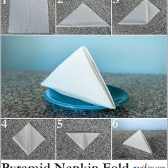 Origami Eagle Instructions Diagram Cat6 Rj45 Socket Wiring Pyramid Napkin Fold | How To A Pinterest Napkins, Fancy Folding And Tutorials