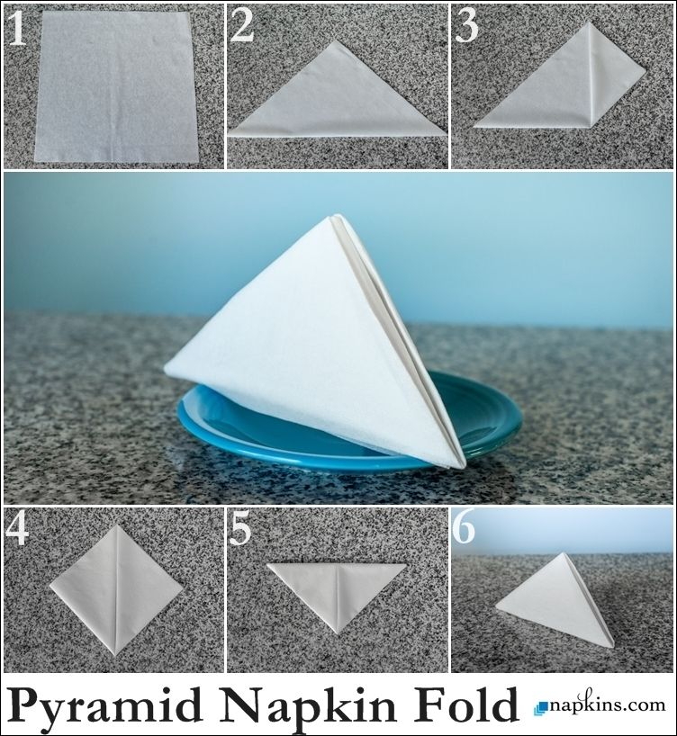 origami eagle instructions diagram 2002 mitsubishi lancer es stereo wiring pyramid napkin fold | how to a pinterest napkins, fancy folding and tutorials