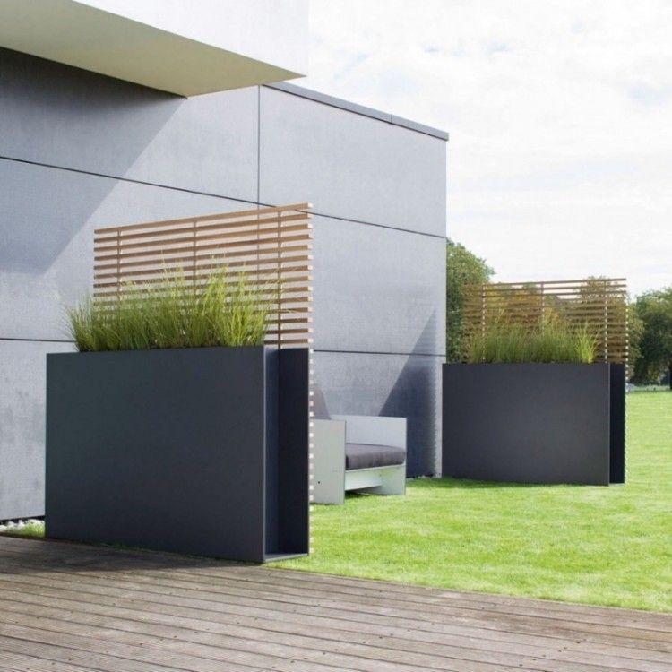 sichtschutz terrasse aus metall | moregs, Hause und garten