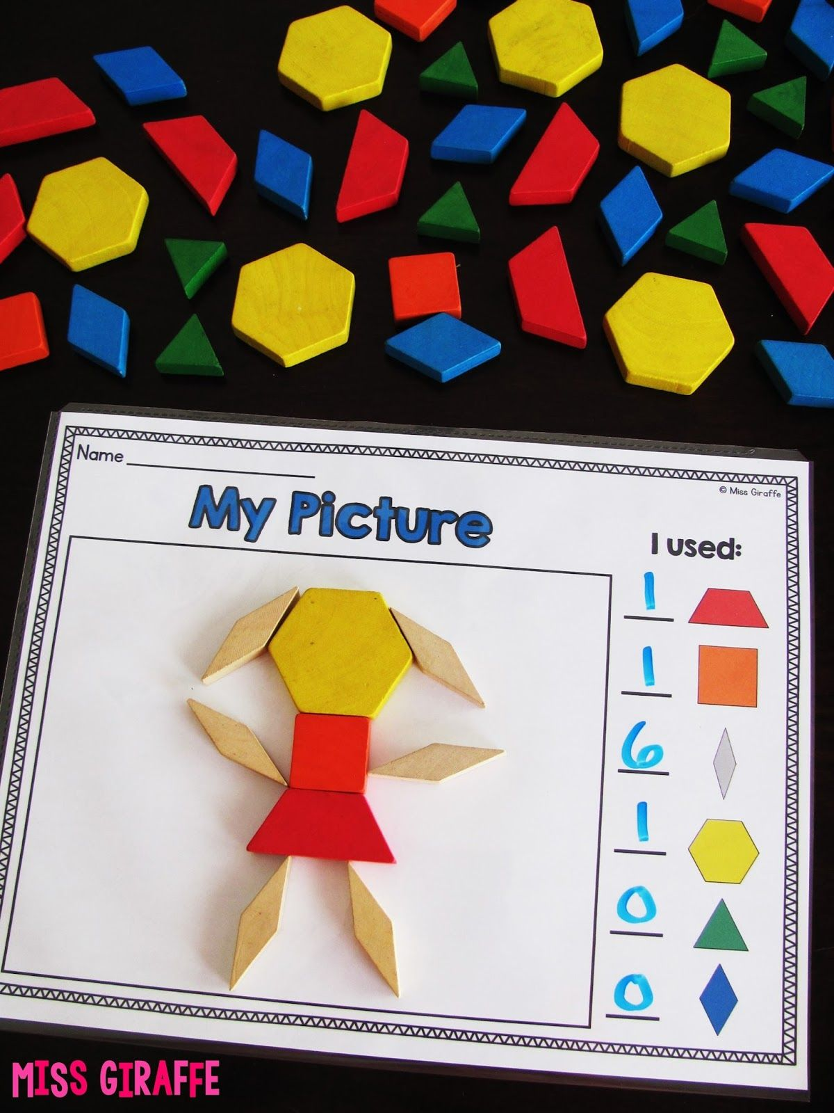Composing Shapes Is Such A Fun Topic In First Grade And