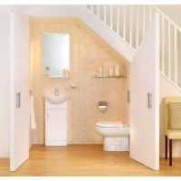 bathroom under stairs - Buscar con Google | ideas de ...