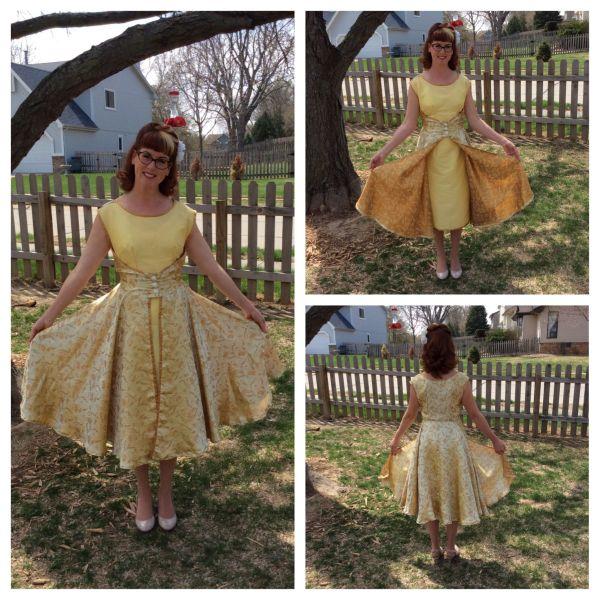 Easter Dress 2014. Butterick Retro '52 4790. '