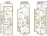 Modern Townhouse Floor Plans EWU | Townhouse Floor Plans ...