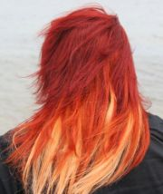 fire ombre hair - colors ideas