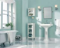 Best paint color for bathroom using light blue wall paint ...