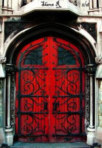Behind the Red Door by *Gothic-Mystery on deviantART ...