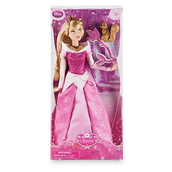 Disney Store Princess Aurora with Squirrel 12quot Classic