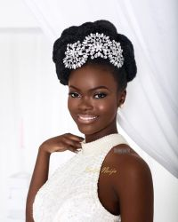 7 Glam bridal hairstyles for natural hair on www ...