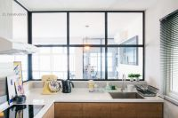 Z L Construction (Singapore) \\ Lattice glass with black ...