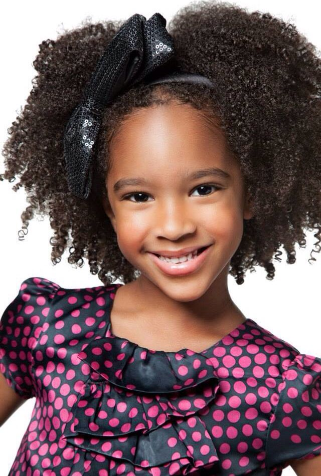 Click the link for a website directed for little black girls with natural hair   Healthy