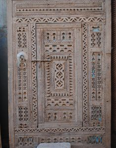 Antique sculpted berber double door with an unusual and quirky central inner from the bab also best images about indian moroccan doors on pinterest rh uk