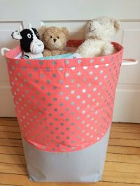 Extra Extra Large Canvas Fabric Storage Bin by ...