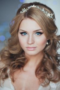 18 Lovely Wedding Hairstyle with Bridal Headpieces from ...
