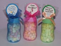 baby shower favors to make yourself | Baby Bottle Gifts ...