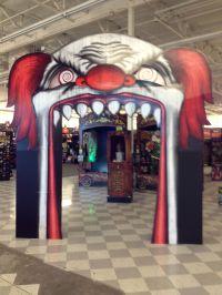 Evil clown archway