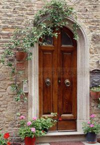 Matted Photography, Italian Art Door Print, European ...