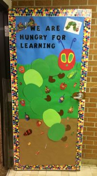 The Very Hungry Caterpillar classroom door idea ...