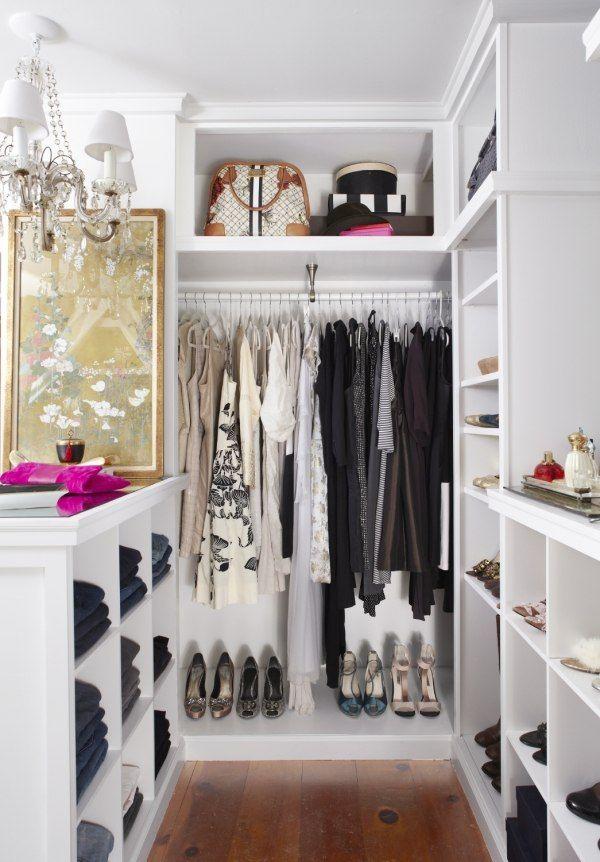 begehbarer kleiderschrank im kleinen schlafzimmer | sichtschutz - Kleines Schlafzimmer Mit Begehbarem Kleiderschrank