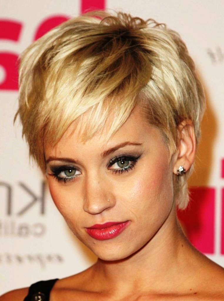 Short Hairstyles For Thin Hair And Round Face Short Hairstyles