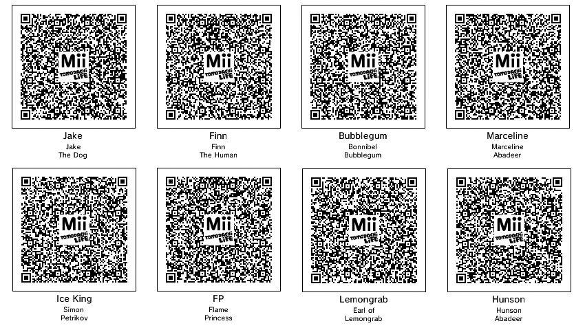 Dantdm Mii Tomodachi Life Qr Codes