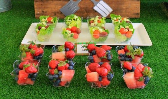 Salad Berries Kids Party Food Healthy Ideas Garden First