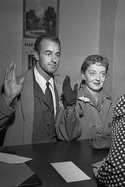 Image result for bette davis and william grant sherry