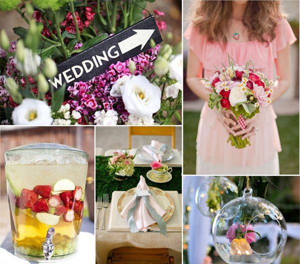 Top 8 Trending Wedding Theme Ideas 2014 Gardens Garden Theme