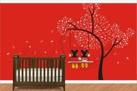 Mickey Mouse - Minnie Mouse Wall Decal - Wall Vinyl For ...