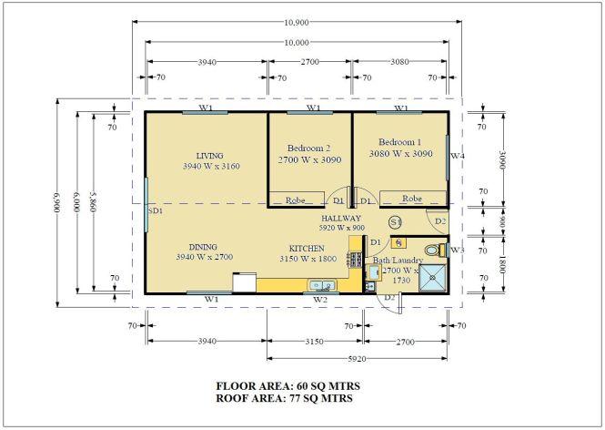 2 Bedroom Granny Flat Plans Decorating Ideas Cool