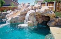 Pools With Waterfalls & Custom Swimming Pool Designs ...