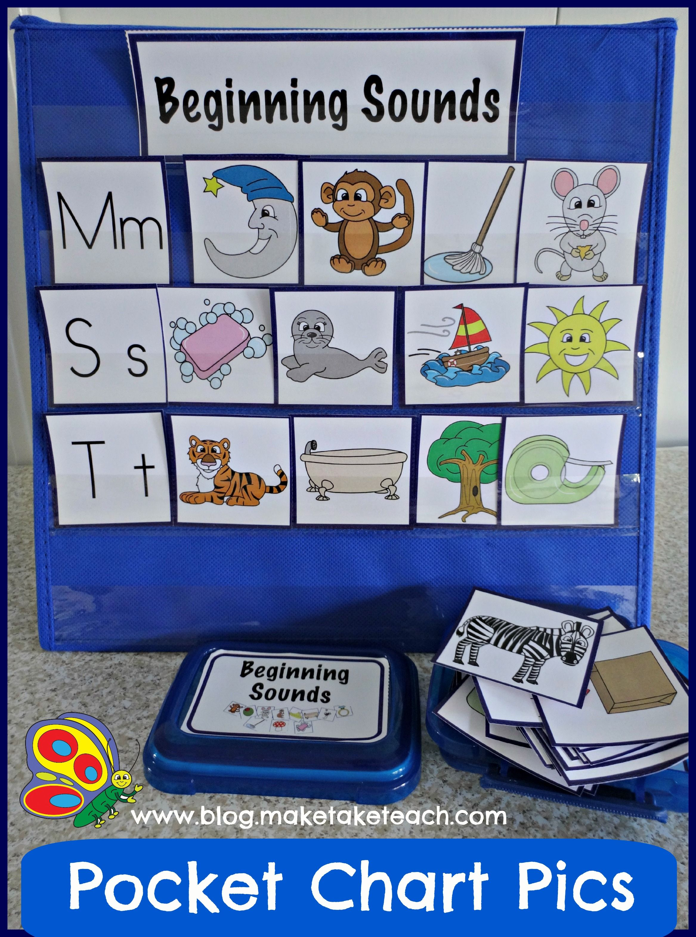 Over 200 Colorful Pics For Teaching Beginning Sounds