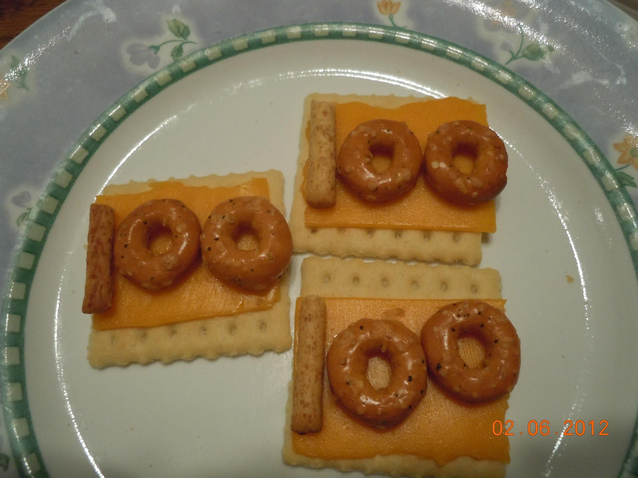 100th Day Of School Snack