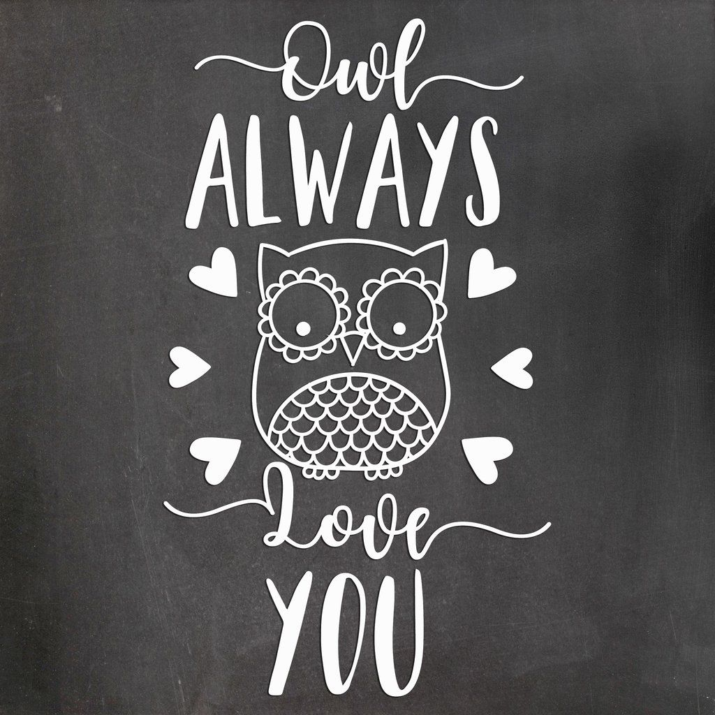 Download Flash Sale - Owl Always Love You - SVG, DXF, PNG - Scout ...