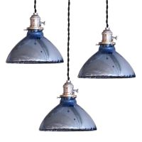 Blue Mercury Glass Pendant Lights   More Mercury glass and ...