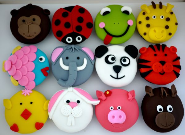 Cupcakes Animal Farm